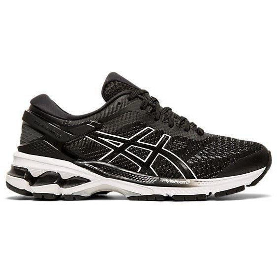 Womens Gel-Kayano 26 - Black/White