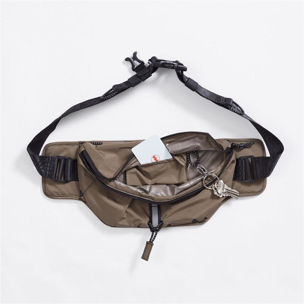 Unisex Multipass Sling Bag - Safari