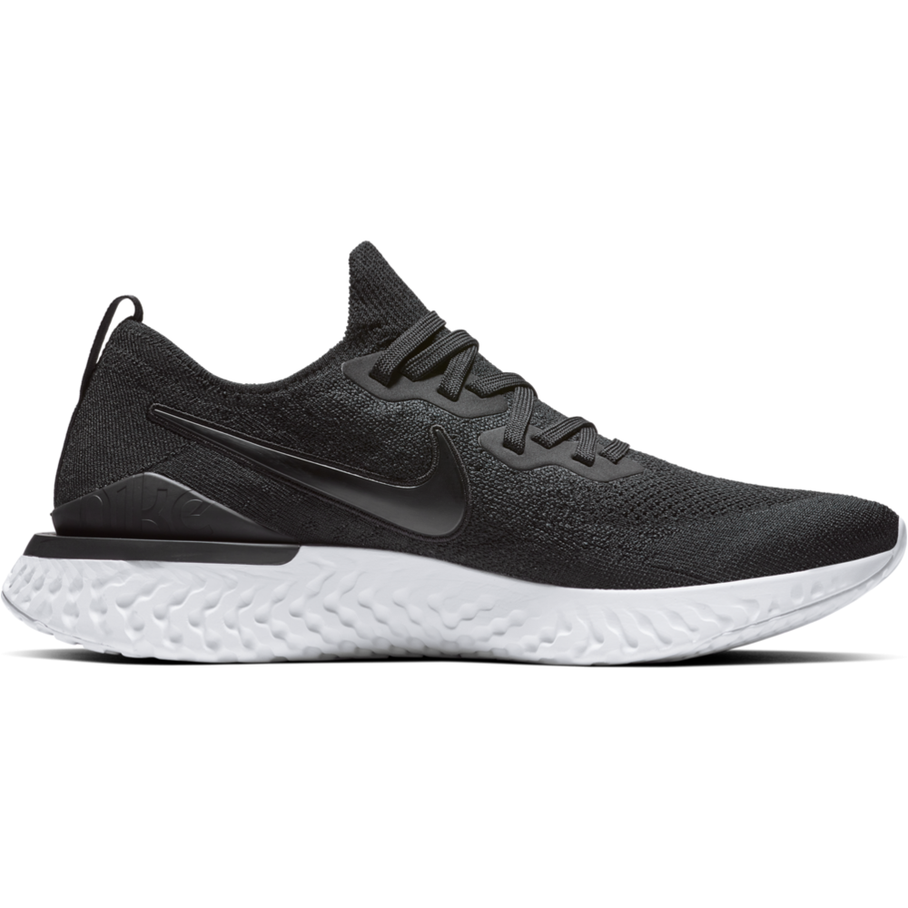 Mens Epic React Flyknit 2 - Black/White