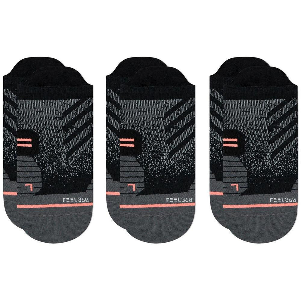 Women's Run Tab 3-pack - Black