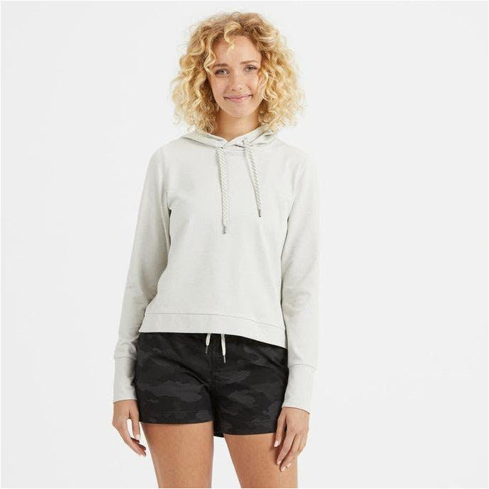 Womens Halo Essential Hoodie - Dove Grey Heather