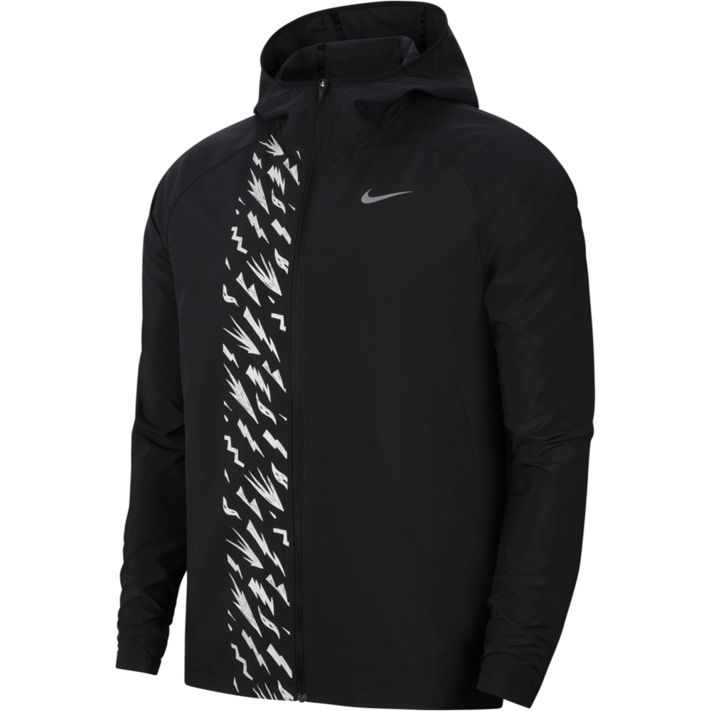 Mens Essential Jacket - Black/Reflective