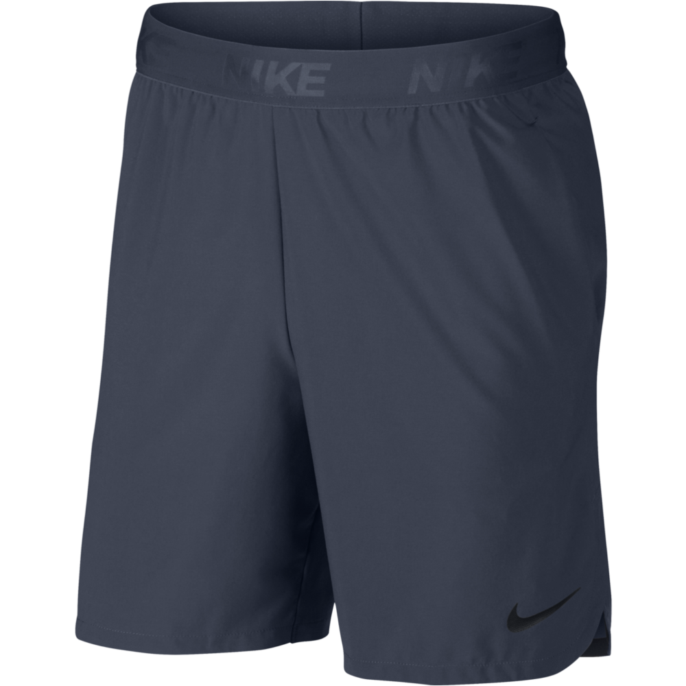 Mens 8'' Flex Shorts - Thunder blue