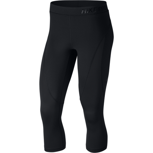 Womens Pro HyperCool Tights - BLACK/CLEAR