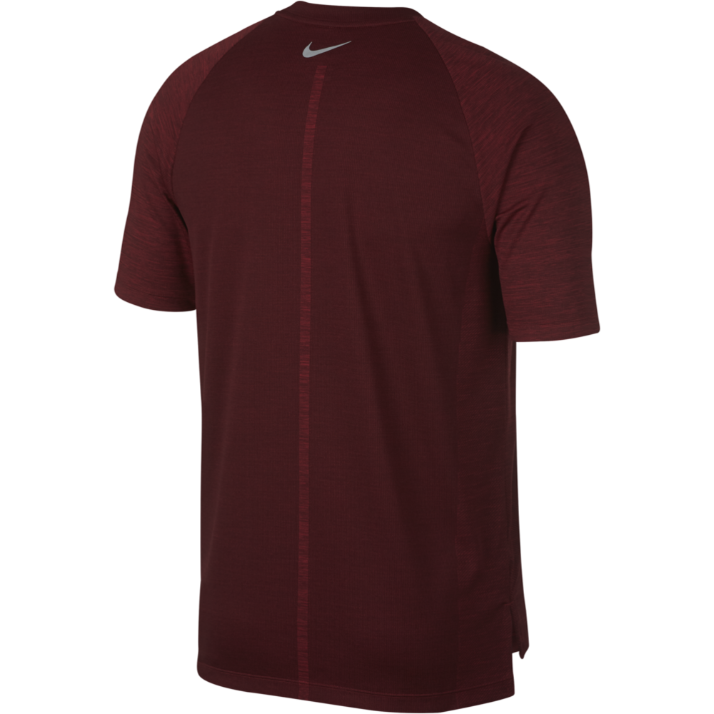 Mens Dri Medalist Running Short Sleeve Top - Red Crush
