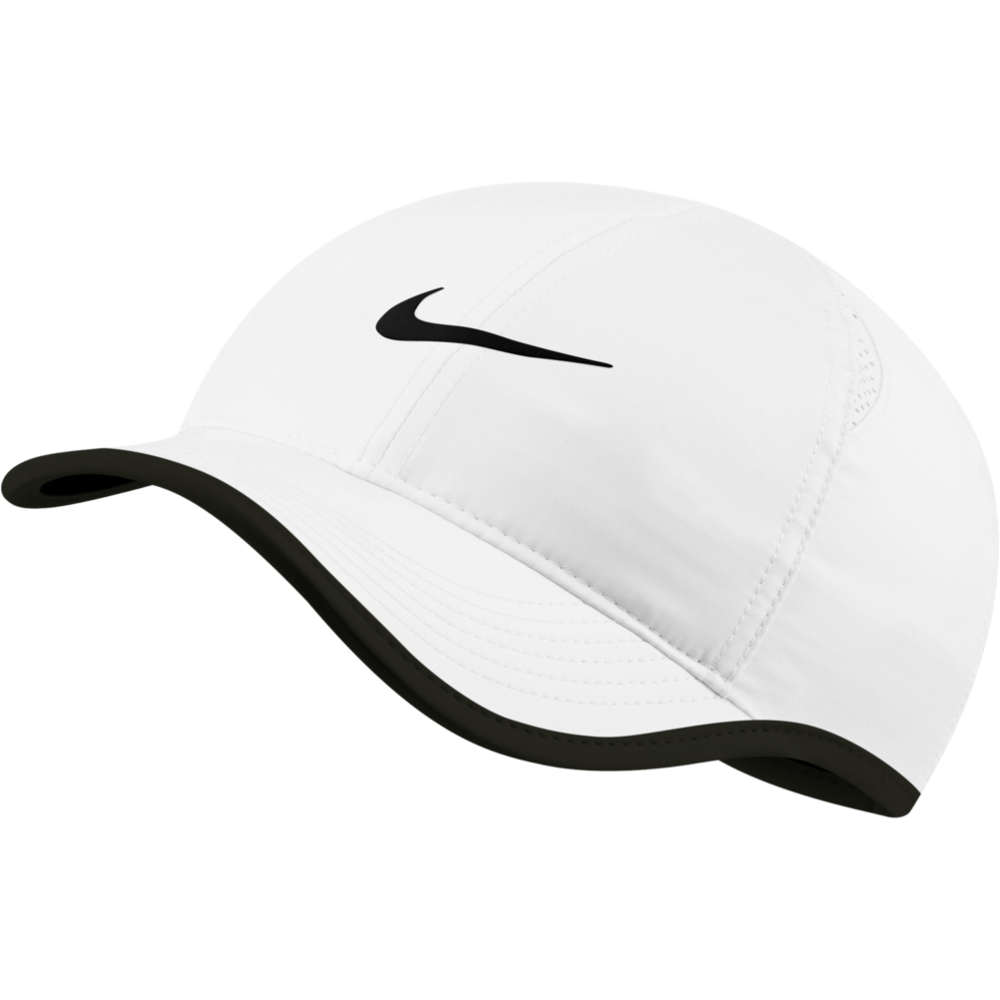 Womens Aerobill Featherlight Hat - White/Black