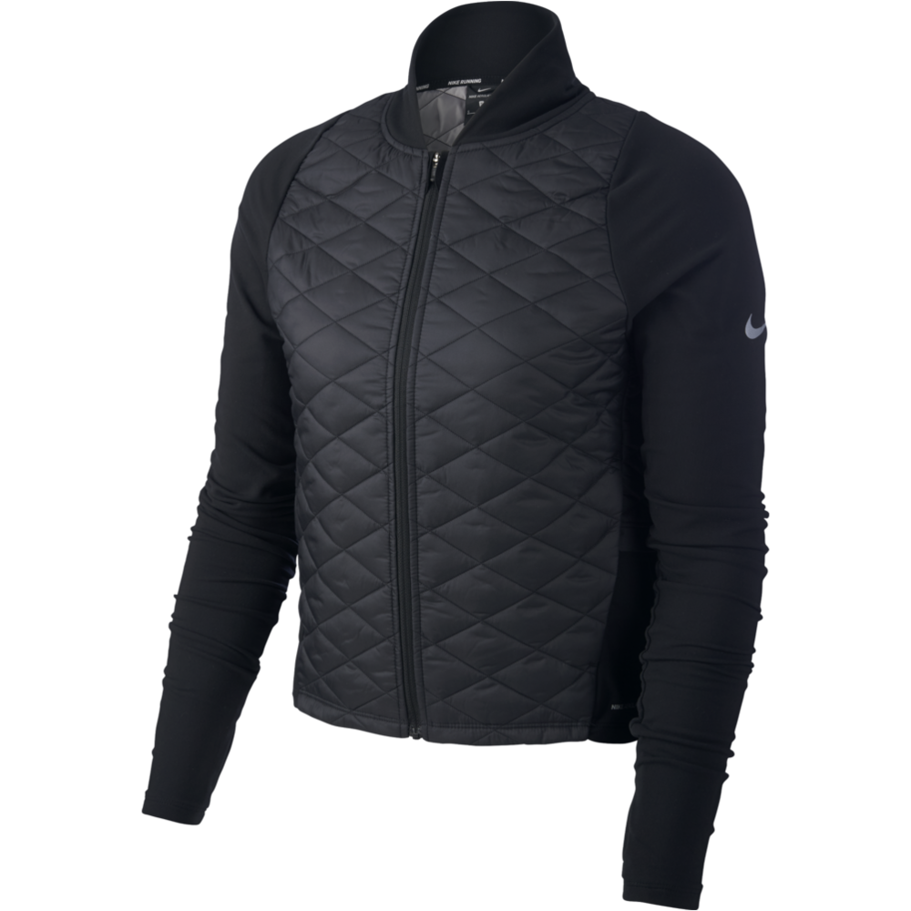 Womens AeroLayer Jacket - BLACK/GREY