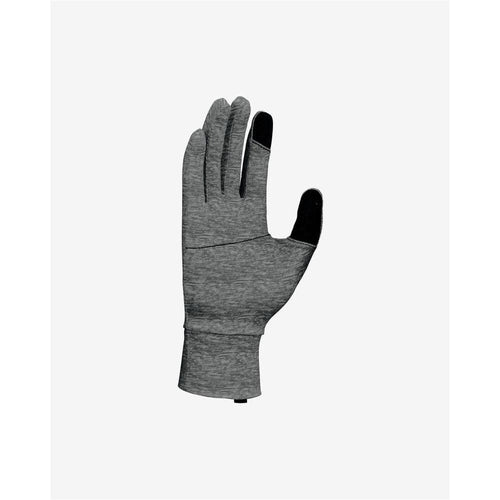 Womens Dry Element 2.0 Running Glove - Heathered Smoke Grey/Silver