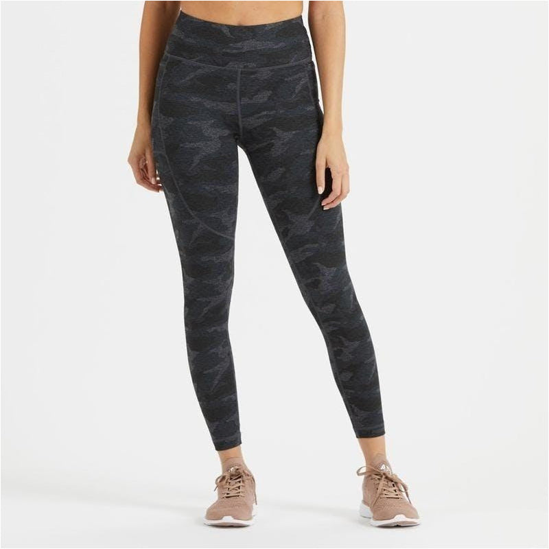 Elevation Performance Legging - Black Camo