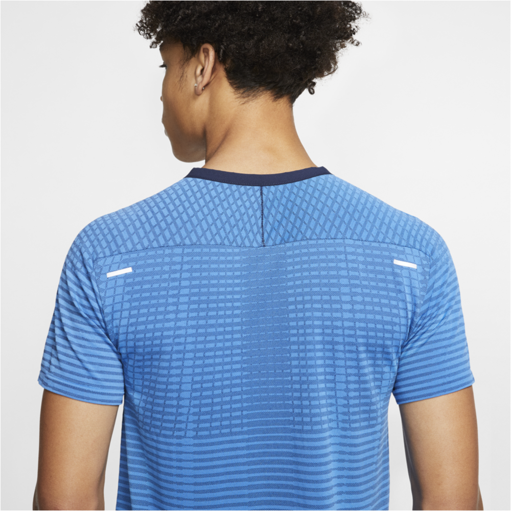 Mens Techknit Ultra Running Top - Blue