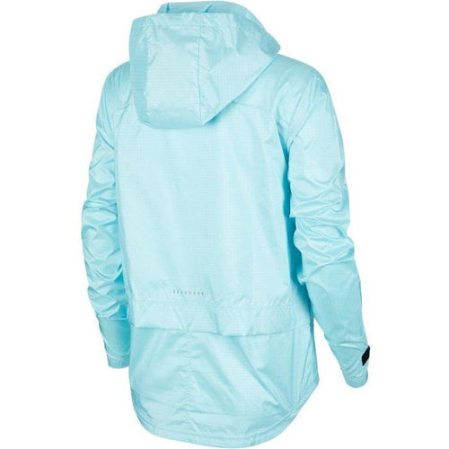 Womens Essential Running Jacket -Glacier Ice