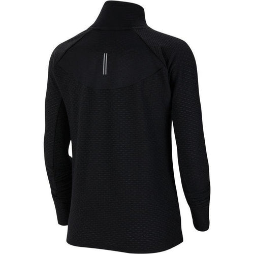 Womens Sphere 1/2-Zip Running Top - Black