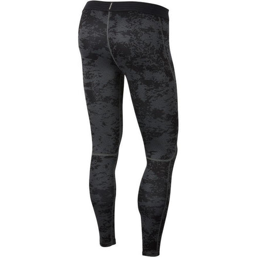 Mens Pro Camo Tights - Black/Iron Grey