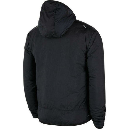 Mens Aerolayer Running Jacket - Black