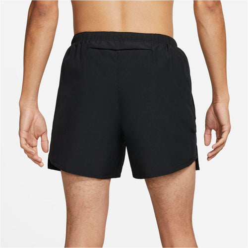 Mens Challenger Brief-Lined Running Shorts - Black