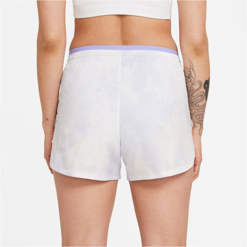 Womens Tempo Luxe Icon Clash Running Shorts - Light Thistle