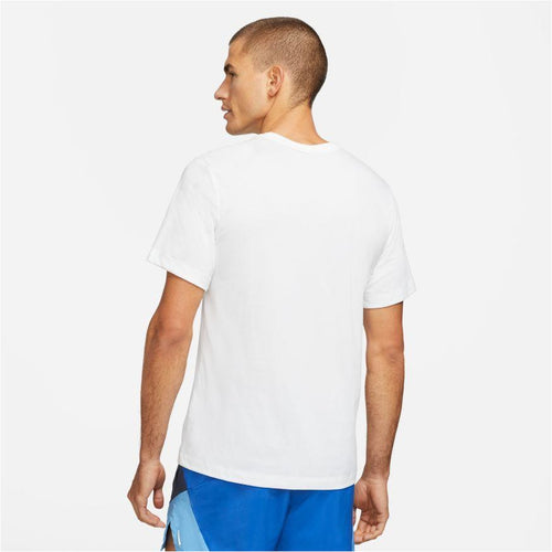 Mens Dri-FIT BRS Running T-Shirt - White
