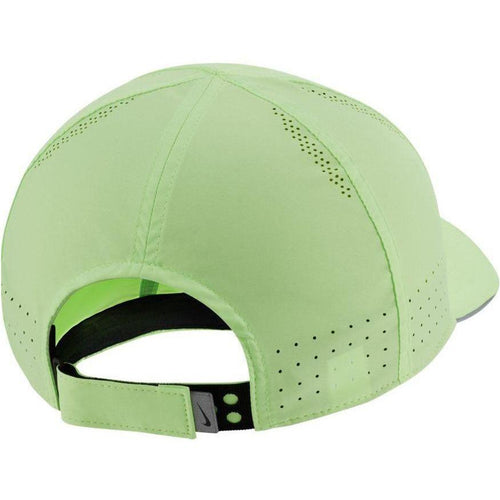 Unisex Dri-FIT Aerobill Featherlight Perforated Running Cap - Ghost Green