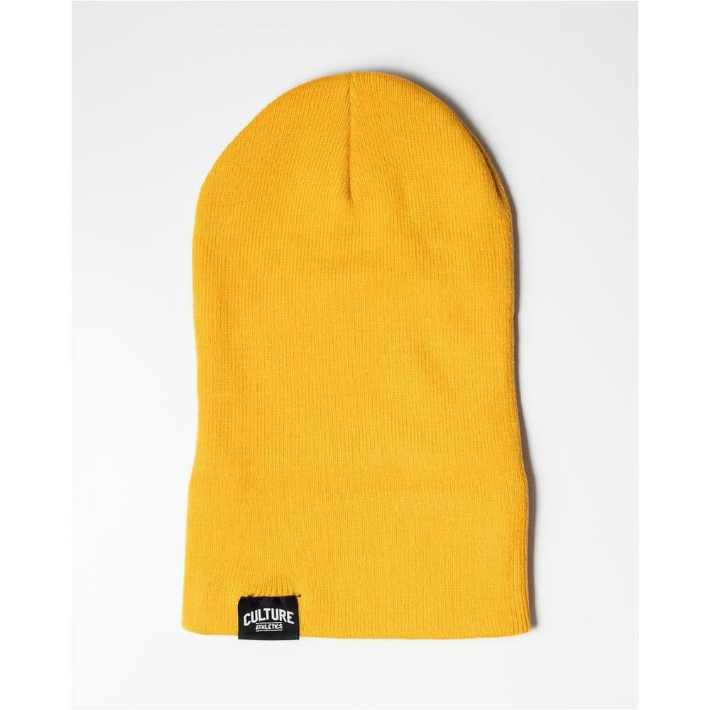 Unisex CA Carpenter Beanie - Golden Yellow