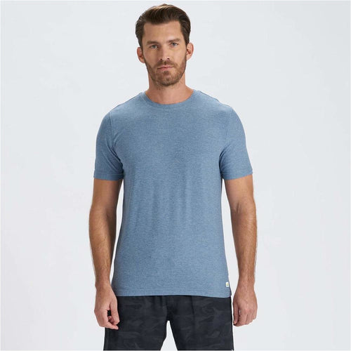 Mens Strato Tech Tee - Cloud Heather