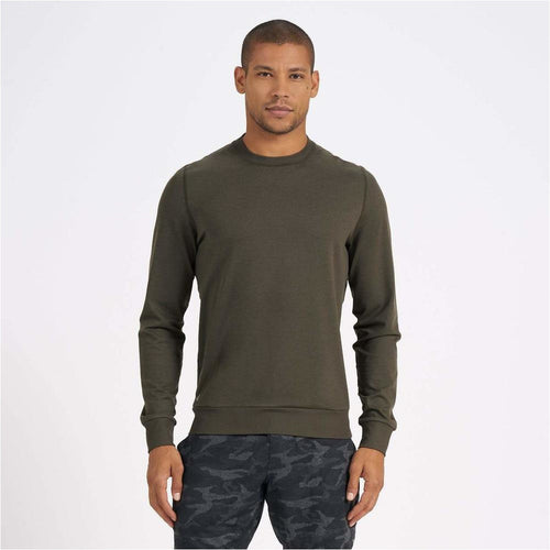 Mens Ponto Performance Crew - Oregano Heather