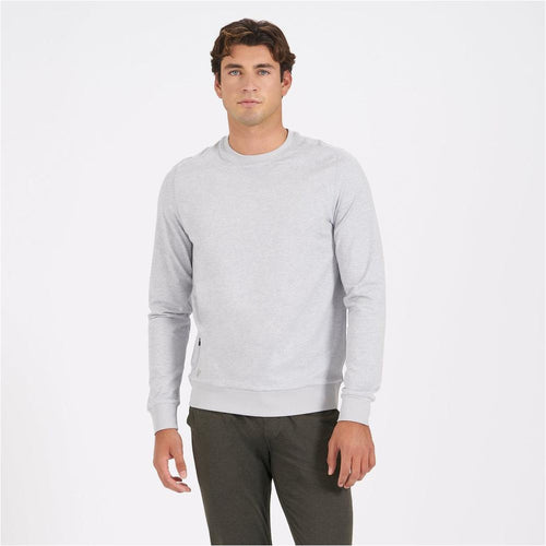 Mens Ponto Performance Crew - Platinum Heather