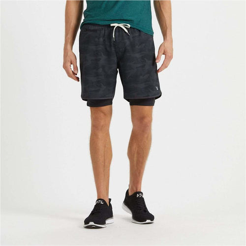 Mens Stockton Short - Black Camo