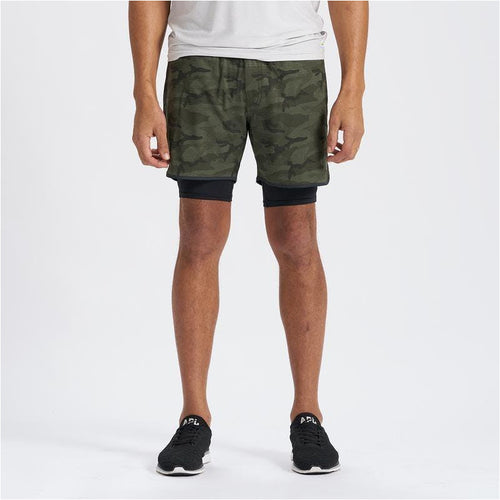 Mens Stockton Short - Olive Camo