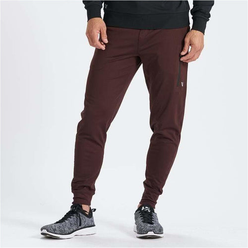 Mens Sunday Performance Jogger - Oxblood