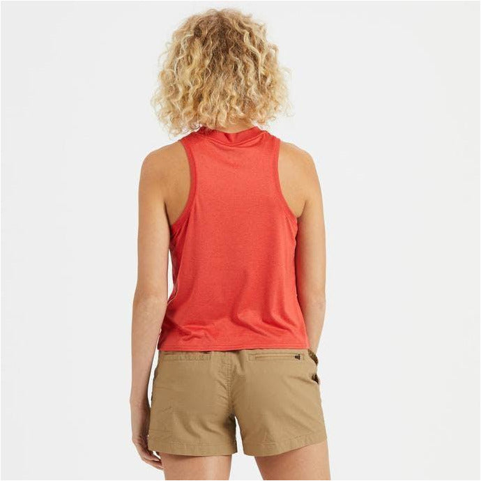 Womens Energy Top - Melon Heather