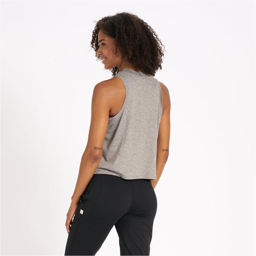 Womens Energy Top - Heather Grey