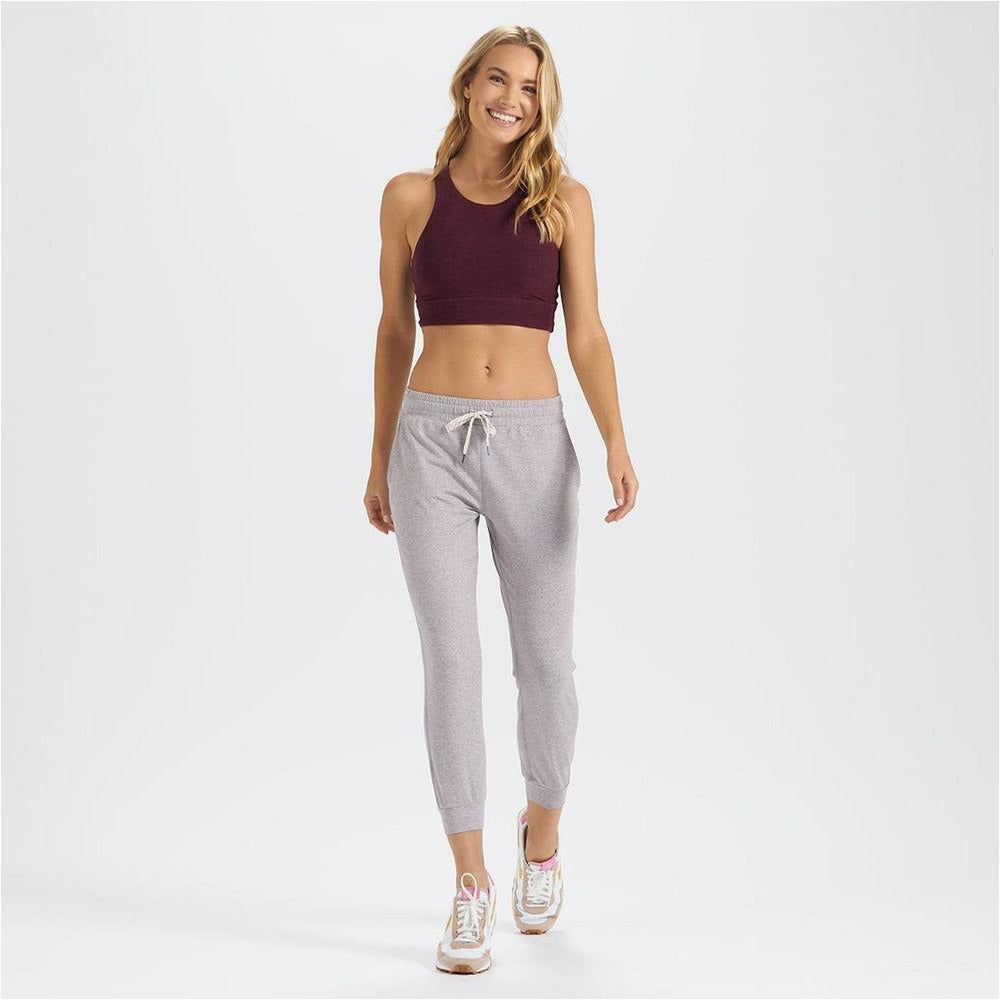 Womens Performance Jogger - Clay Heather
