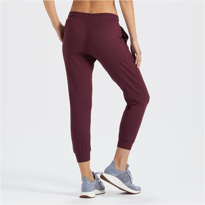 Womens Performance Jogger - Cerise Heather