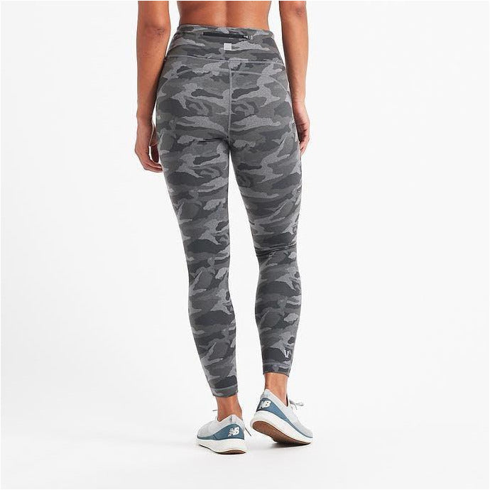 Caspian Legging - Heather Grey Camo