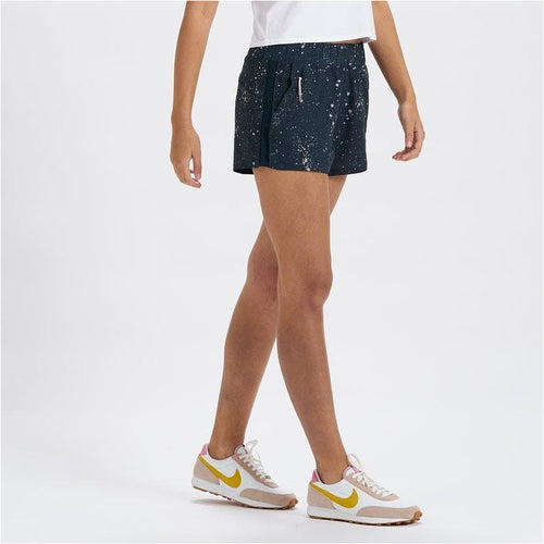 Womens Dash Short - Ink Splatter