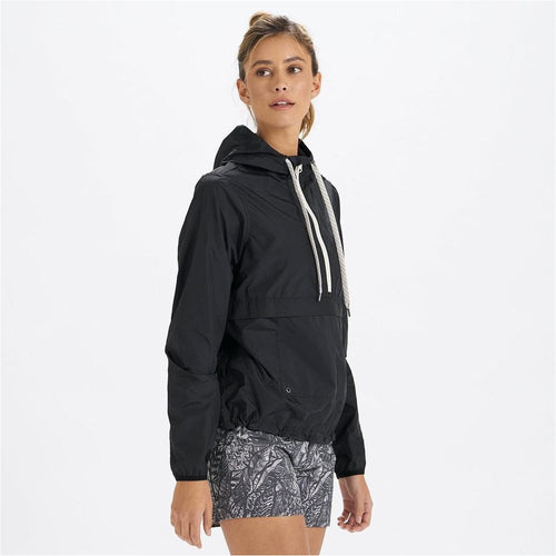 Womens Saltwater Anorak - Black