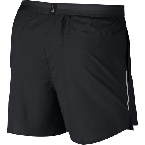 "Mens Flex Stride 5"" Shorts - Black/Silver"