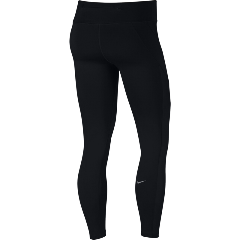 Womens Epic Lux Tights - Black/Silver