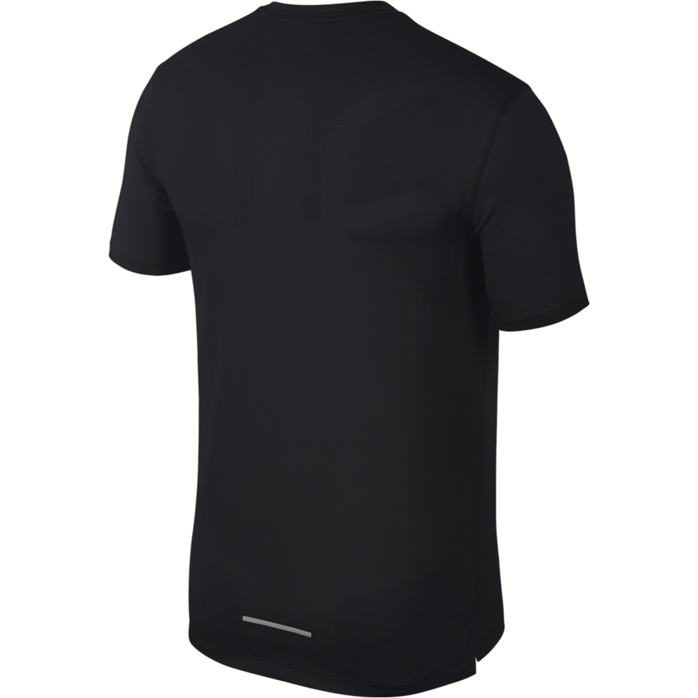Mens Miler Short Sleeve - Black/White