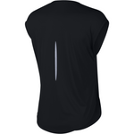 Womens City Sleek Short Sleeve Top - Black