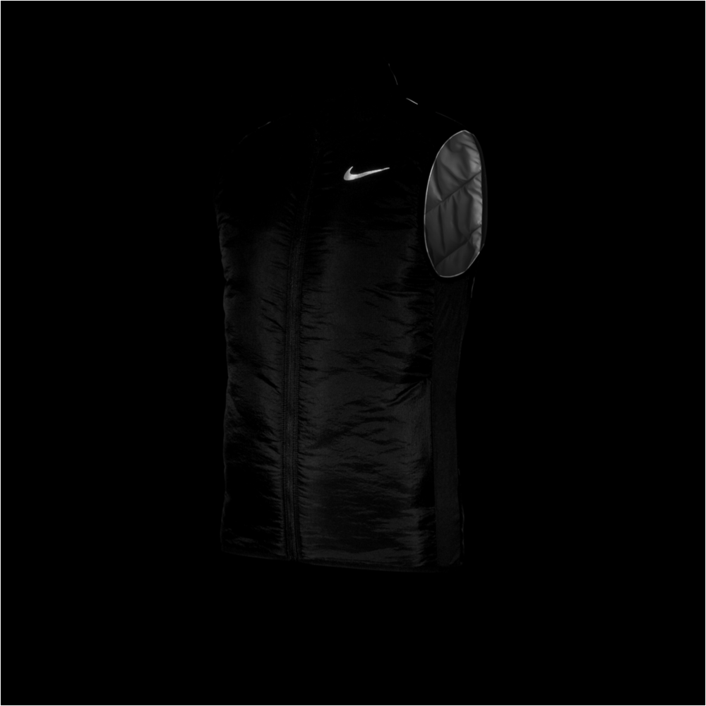 Mens AeroLayer Running Vest - Black