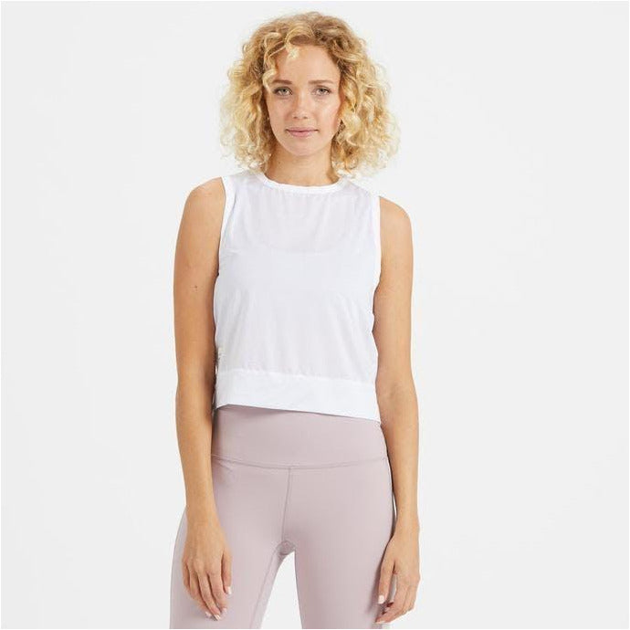 Womens Lizette Crop - White