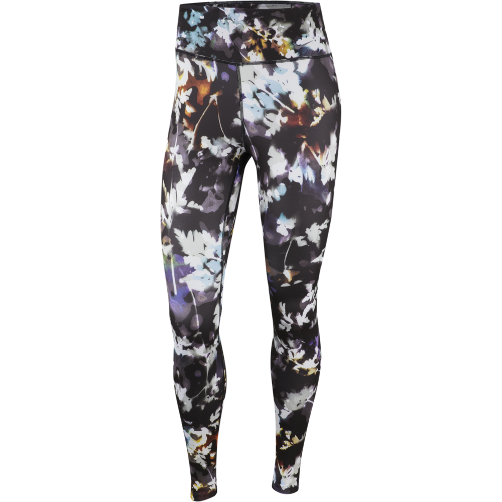Womens One Printed Tight - Black/White