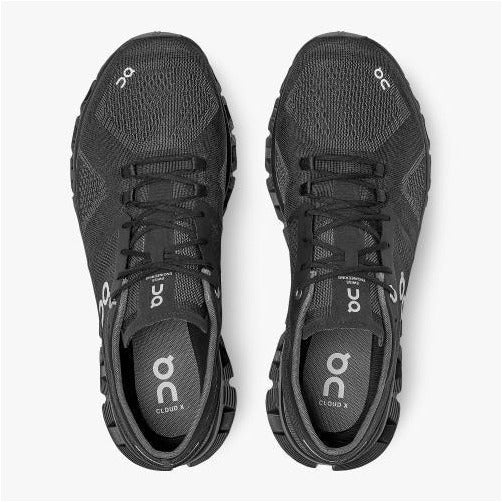Mens Cloud X (New Generation) - Black/Asphalt