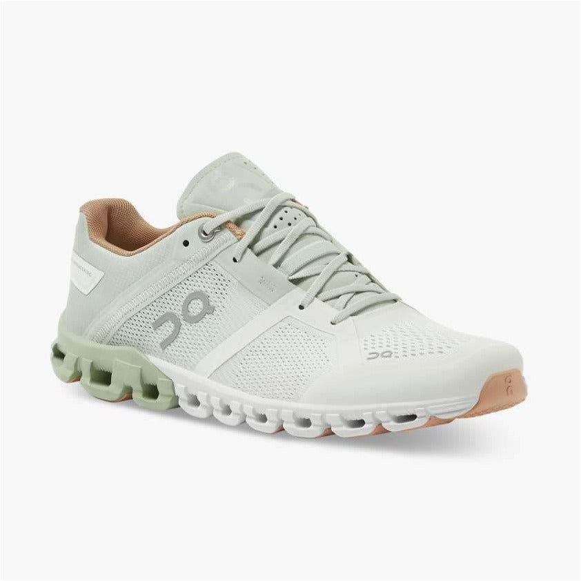 Womens Cloudflow - Aloe/White