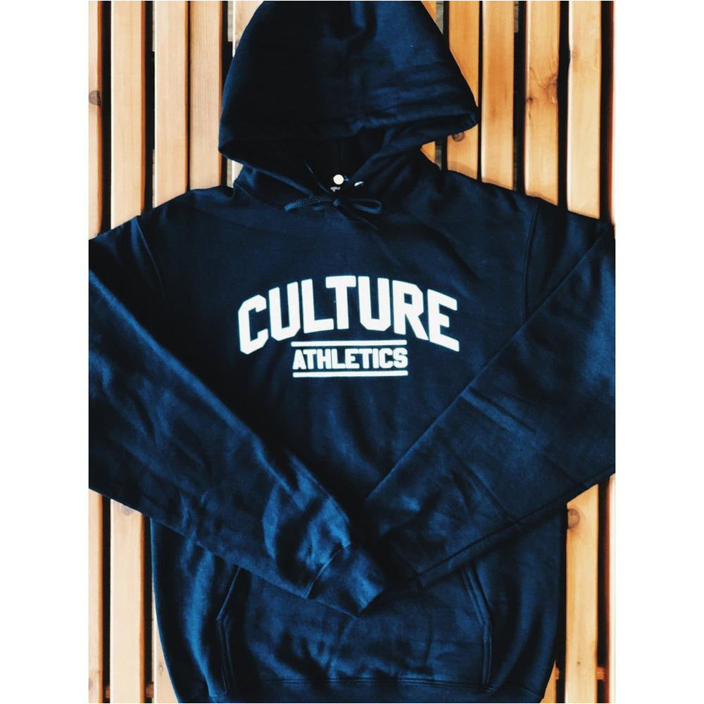 Culture Athletics Hoodie - Black/White