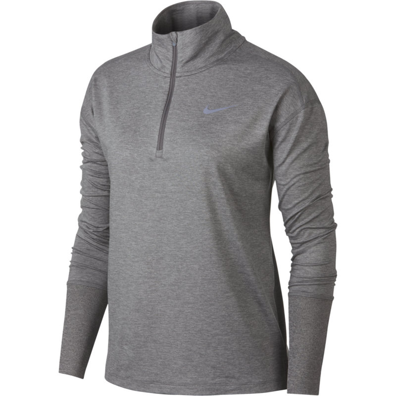 Womens Element Long Sleeve Top - Grey