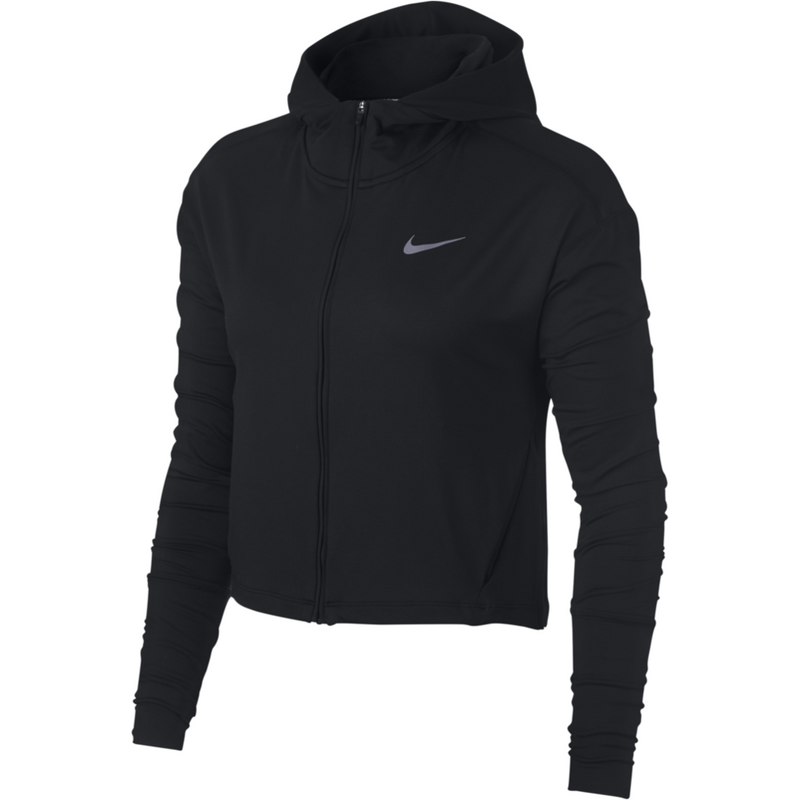 Womens Element Full Zip Sweater - Black