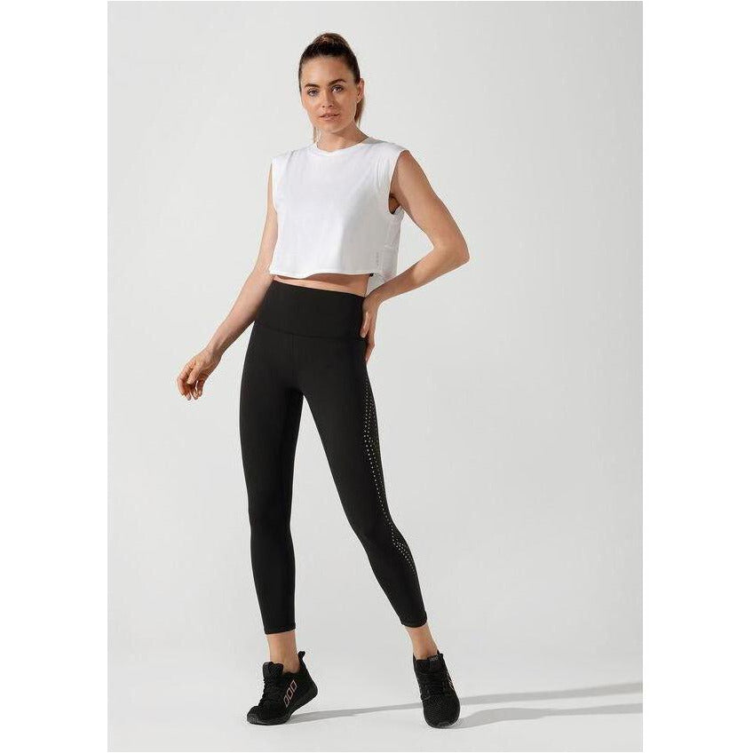 Womens Elevate Ankle Biter Tight - Black