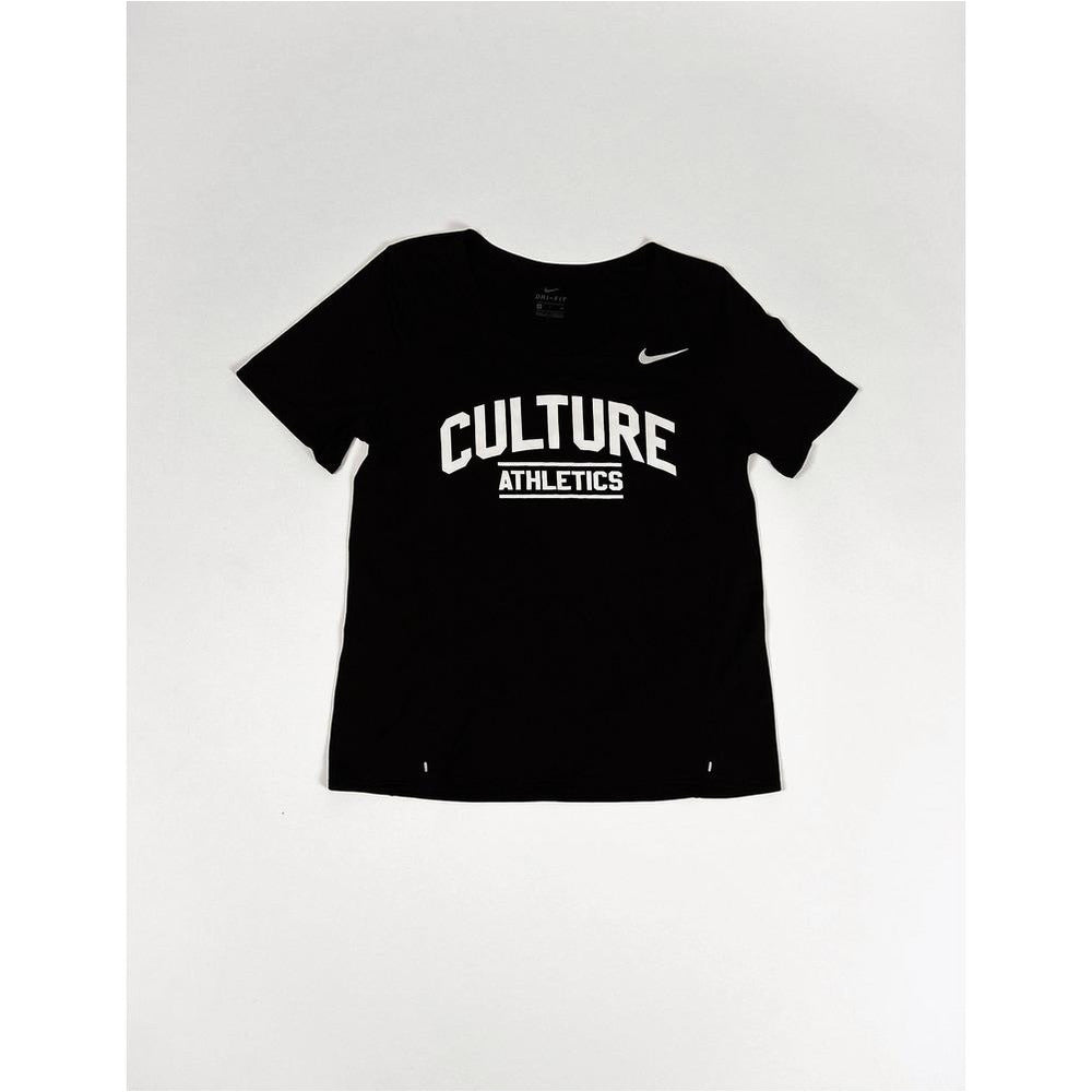 Womens Culture Athletics x Nike City Sleek Running Tee